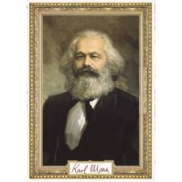 Karl Marx- Tausendschön - Postkarte