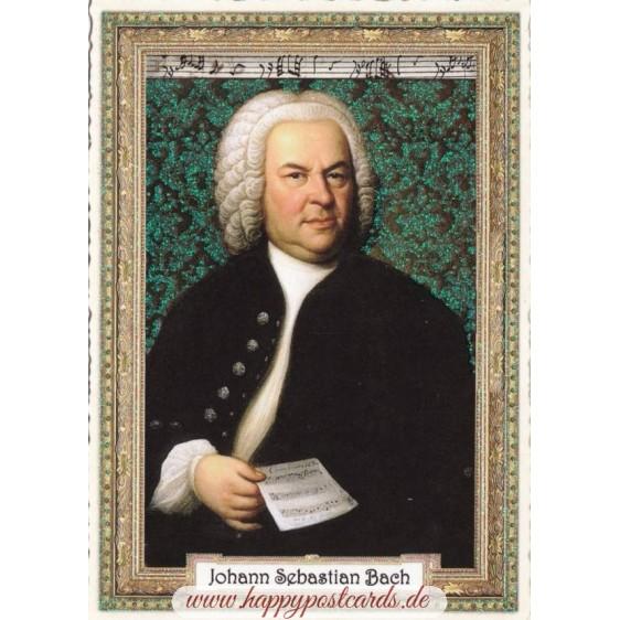 Johann Sebastian Bach - Tausendschön - Postcard