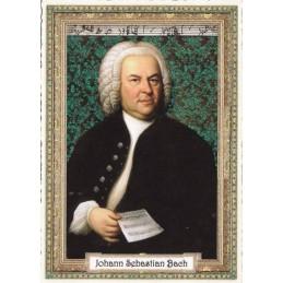 Johann Sebastian Bach- Tausendschön - Postkarte