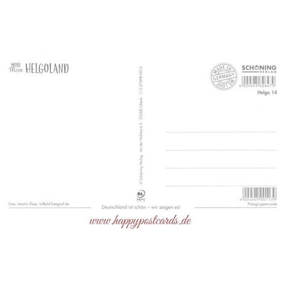 Helgoland Aerial View - HotSpot-Card