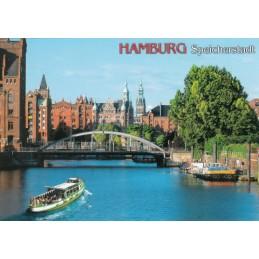 Hamburg - Speicherstadt - Ansichtskarte