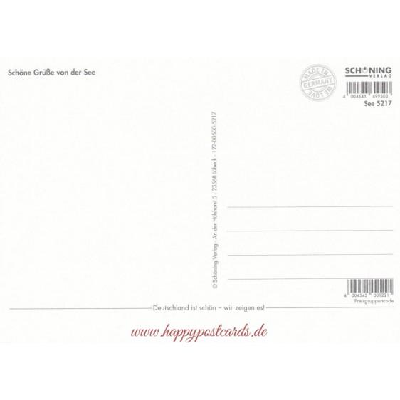 Hafensänger - de Waard postcard
