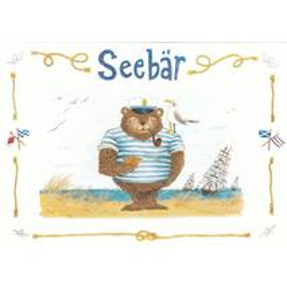 Seebär - de Waard Postkarte