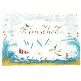 Büschen Wind - de Waard postcard