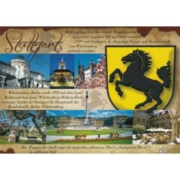 Stuttgart - Chronicle - Viewcard