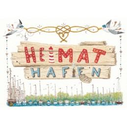Heimathafen - de Waard postcard