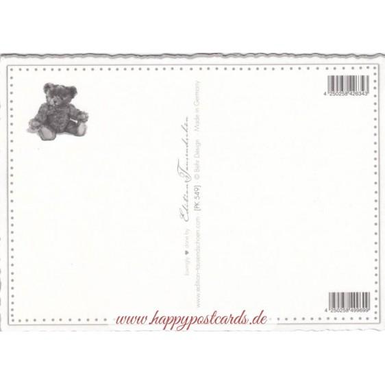 Teddies - Tausendschön - Postcard