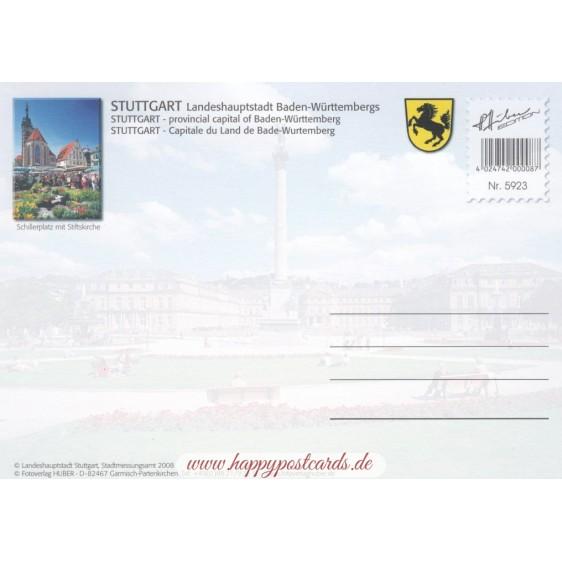 Stuttgart - Map