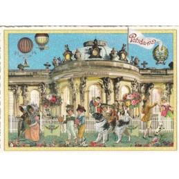 Potsdam Sanssouci - Tausendschön - Postkarte