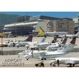 Stuttgart - Airport - Viewcard