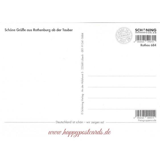Rothenburg o.d. Tauber - Viewcard