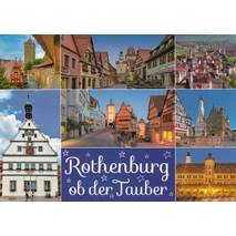 Rothenburg o.d. Tauber - Viewcard