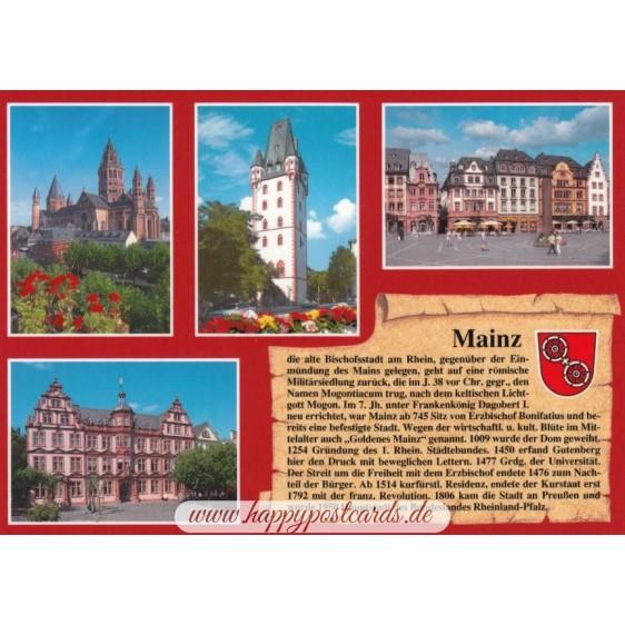 Mainz - Chronikkarte