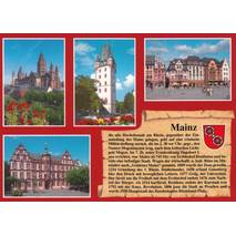 Mainz - Chronicle - Viewcard
