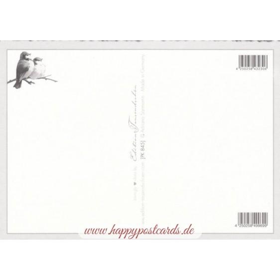 Frohe Ostern - Bunnies on Lambs - Tausendschön - Postcard