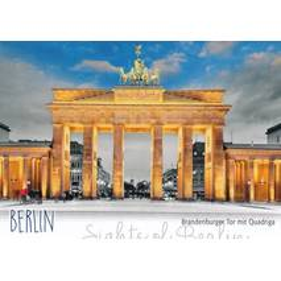 Berlin - Brandenburger Tor - Viewcard