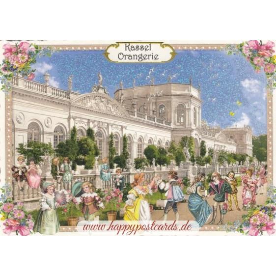 Kassel - Orangerie- Tausendschön - Postkarte
