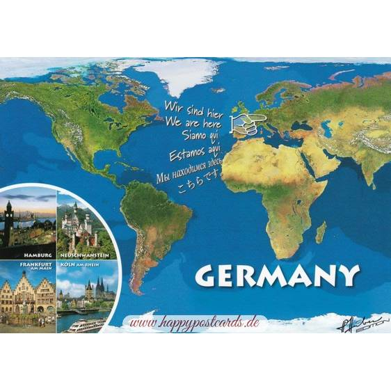 Germany - map
