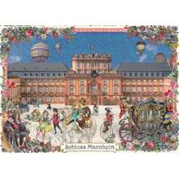 Mannheim - Schloss - Tausendschön - Postkarte