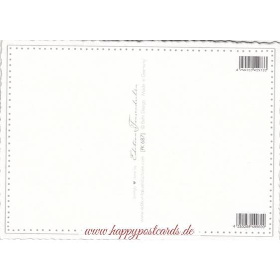 Violine - Tausendschön - Postkarte