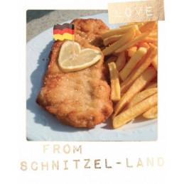 Schnitzel-Land - German Memories - Postkarte