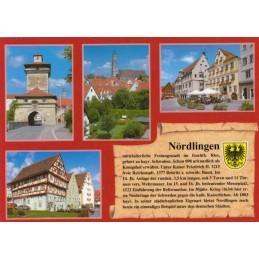 Nördlingen - Chronikkarte