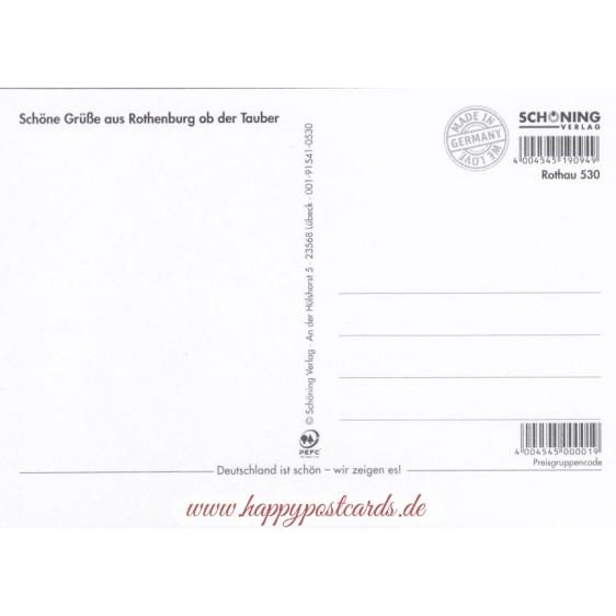 Rothenburg o.d. T. - Chronicle - Viewcard