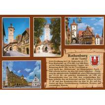 Rothenburg o.d. T. - Chronicle - Viewcard