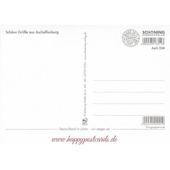 Aschaffenburg - Chronicle - Viewcard