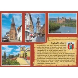 Aschaffenburg - Chronikkarte