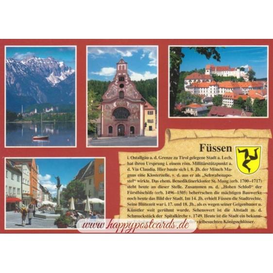 Füssen - Chronicle - Viewcard