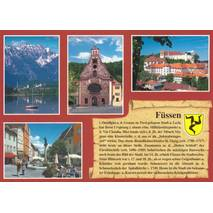 Füssen - Chronicle - Viewcard