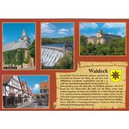 Waldeck - Chronik - Ansichtskarte