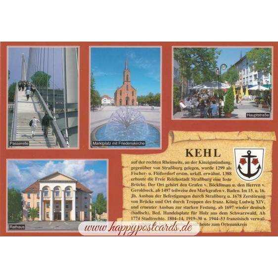 Kehl - Chronicle - Viewcard