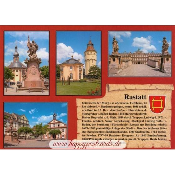 Rastatt - Chronicle - Viewcard