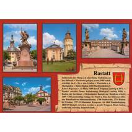 Rastatt - Chronik - Ansichtskarte