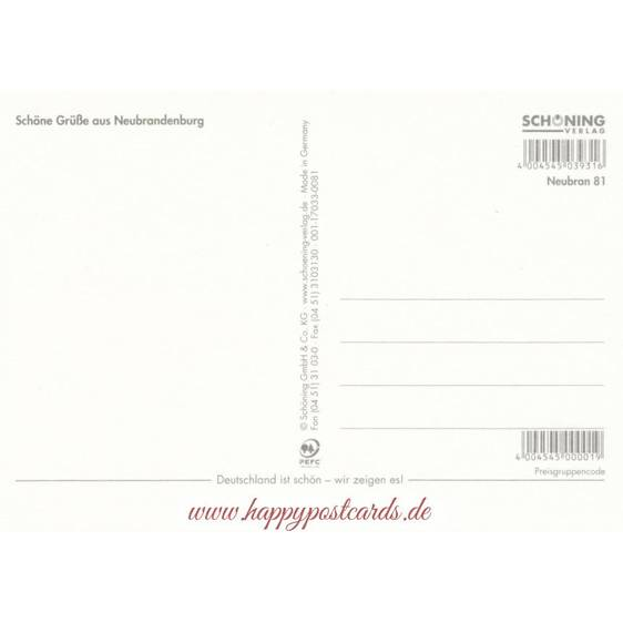 Neubrandenburg - Chronicle - Viewcard