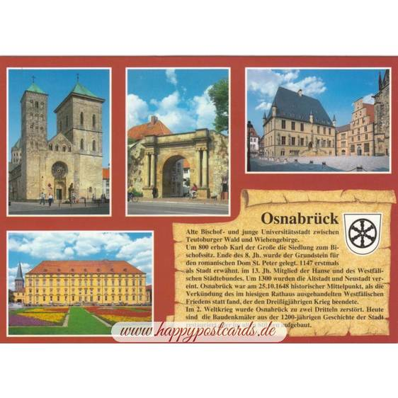 Osnabrück - Chronicle - Viewcard