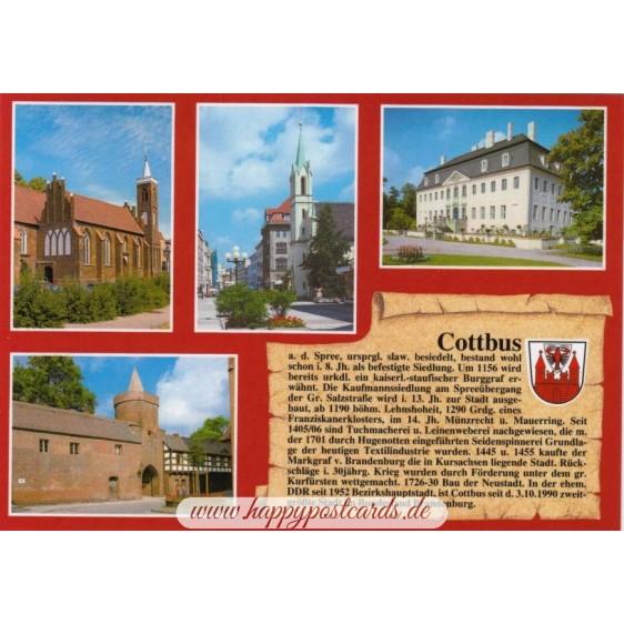 Cottbus - Chronicle - Viewcard