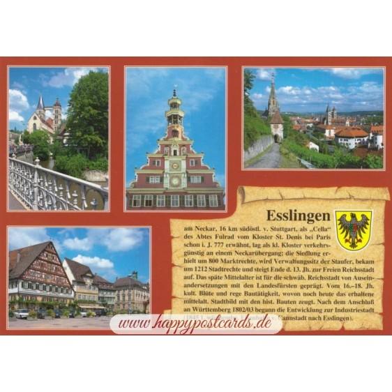 Esslingen - Chronik - Ansichtskarte
