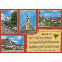 Esslingen - Chronicle - Viewcard