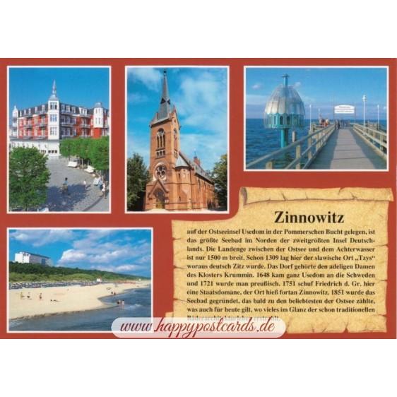 Zinnowitz - Chronicle - Viewcard