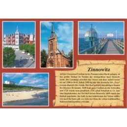 Zinnowitz - Chronik - Ansichtskarte