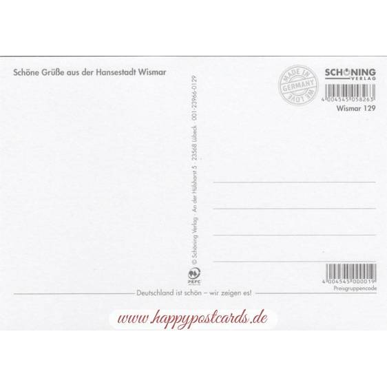 Wismar - Chronicle - Viewcard