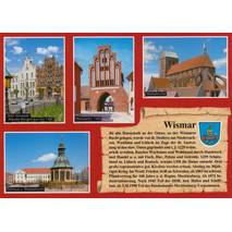 Wismar - Chronicle - Viewcard