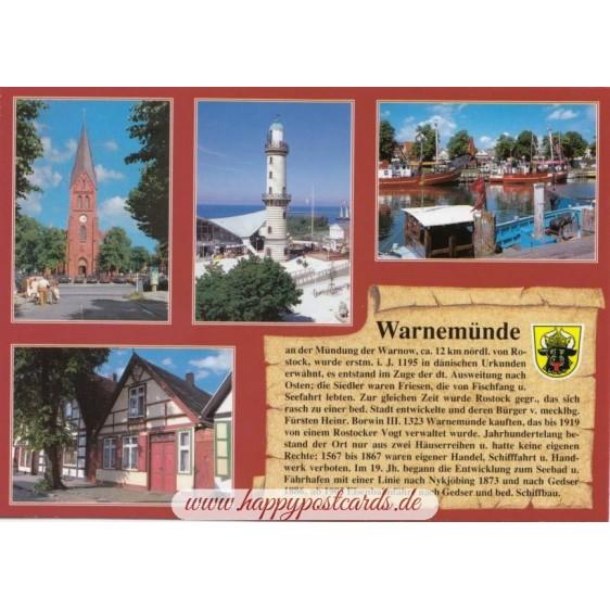 Warnemünde - Chronicle - Viewcard