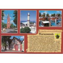 Warnemünde - Chronicle - Viewcard