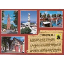 Warnemünde - Chronik - Ansichtskarte