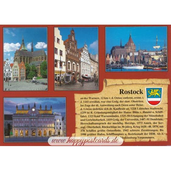 Rostock - Chronicle - Viewcard