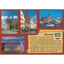 Rostock - Chronicle - Viewcard